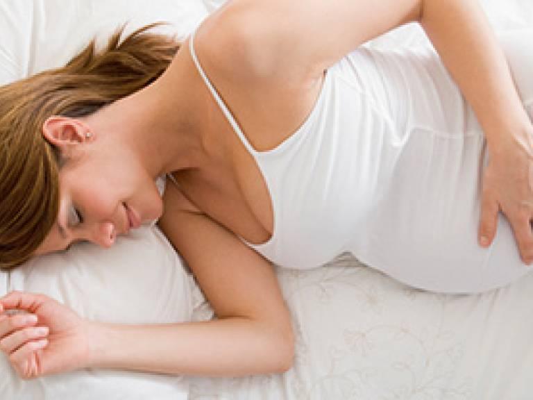 Dormir con la panza