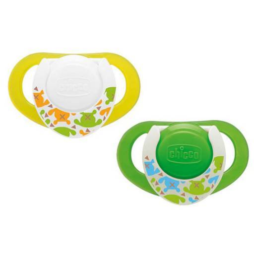 CHUPETE PHYSIO DE LÁTEX 4M+ LUMINOSO 2 PCS