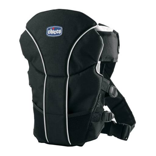 MARSUPIO ULTRA SOFT BABY CARRIER BLACK