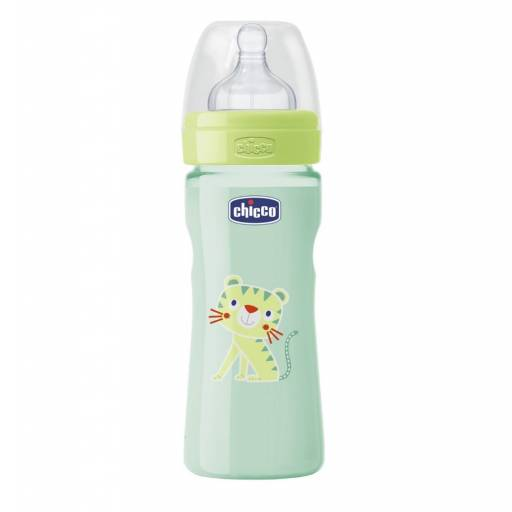 BIB. 250ml  T. SIL. MED  0 BPA - COLOR VERDE