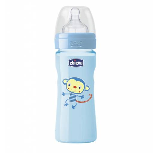BIB. 250ml  T. SIL. MED  0 BPA - COLOR CELESTE