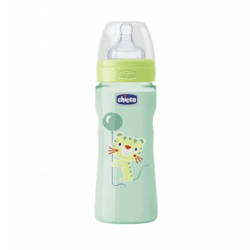 BIB. 330ml  T. SIL. MED  0 BPA - COLOR VERDE