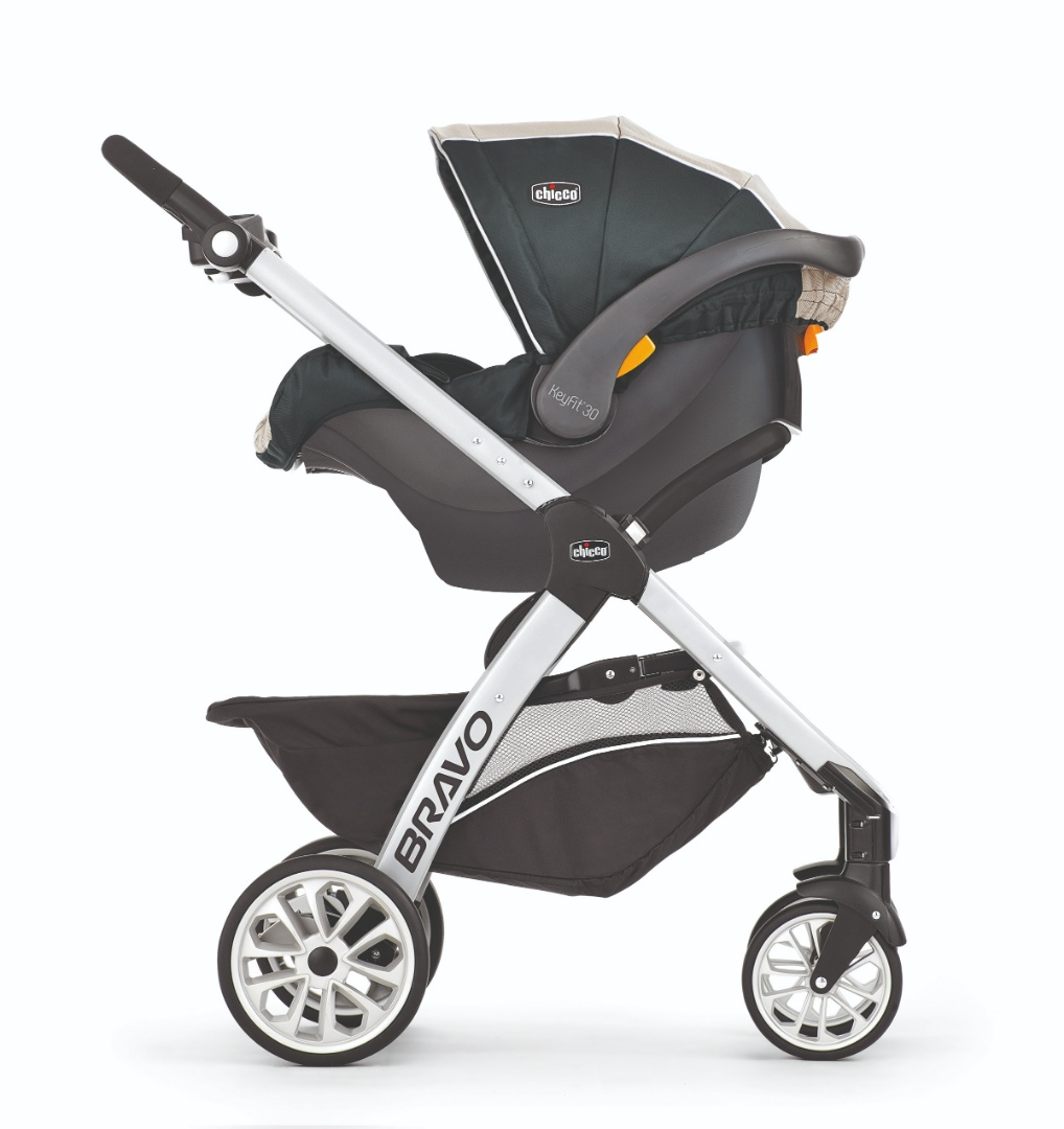 bb36aaaad BRAVO TRAVEL SYSTEM AVENA - GRIS De paseo Coches Travel System